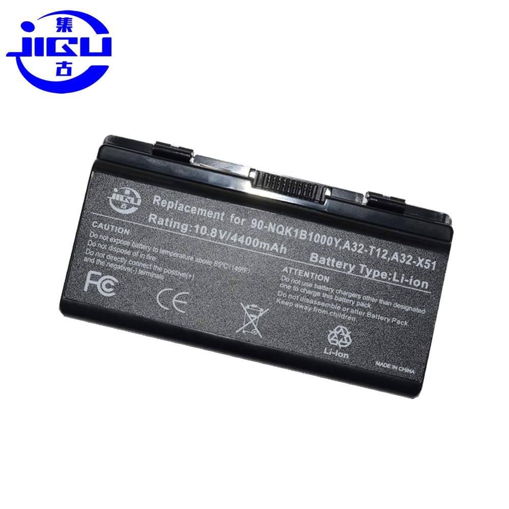 Image 2 - JIGU 6Cells X51L X51R X51RL Laptop Battery For Asus A32 X51 90 NQK1B1000Y A32 T12 T12Fg T12Ug X51C X51H-in Laptop Batteries from Computer & Office