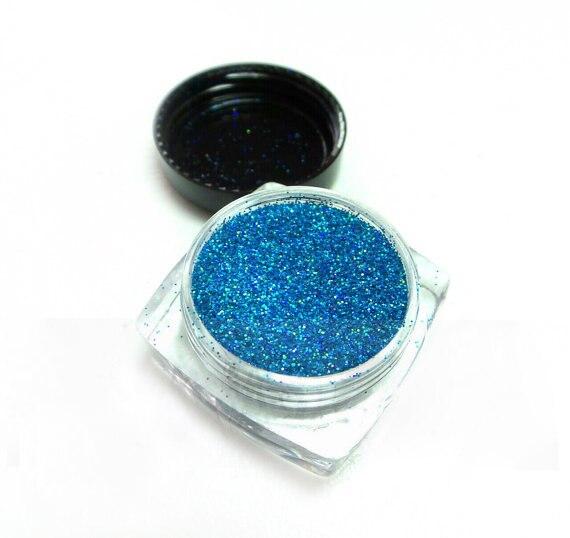 Diskret 5g/jar Blau Holographische Glitter Ultra Feine Nail Glitters BüGeln Nicht Regenbogen Glitter Lose Glitter 008 Harz Liefert