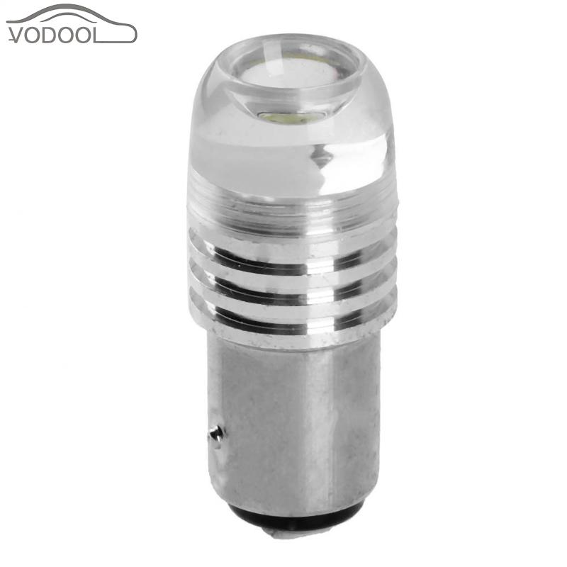 1Pc Universal 12V 5W High Power Lens LED Car Stop Brake Light Automobiles Light-emitting Diode Turn Signal Lamp Tailight Bulb