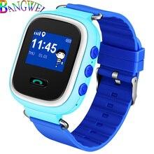 BANGWEI 2018 New Child Smart Watch Kids Baby Health safety Positioning Anti-lost Wristwatch SIM Call Children Gift SmartWatch