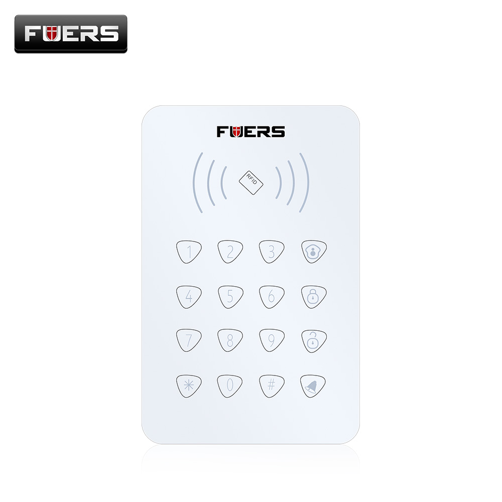 Fuers Rfid Touch Keypad Compatible With Alarm System G90b Battery Burglar Control 2