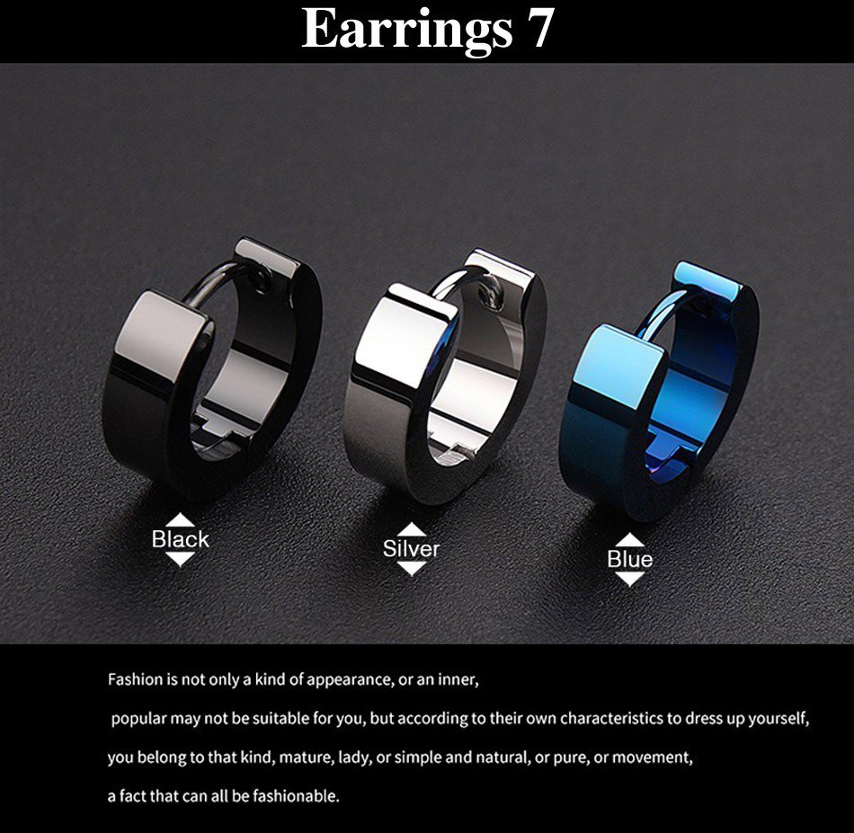 7-earrings for men