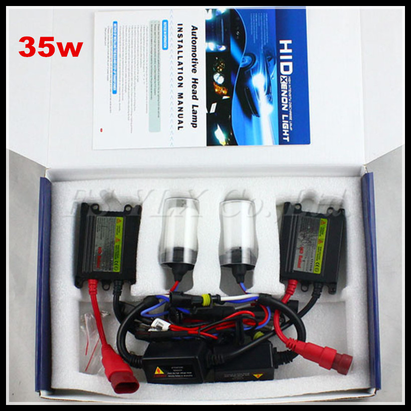ФОТО  35W 12V HID Xenon Conversion Headlamp Kit H1 H3 H7 H4 H8 9005 9006 H9 H11 HB3 HB4 4300K 6000K 8000K