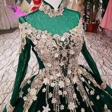 AIJINGYU מלאך שמלת כלה את שמלת טול לבן לכלה סין גואנגזו רטרו צנוע שמלת כלה שמלות 2021 2020 גדול גודל