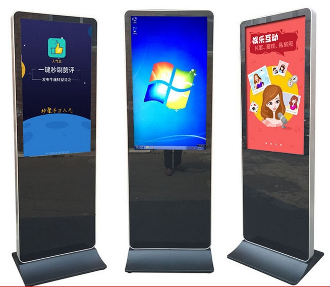 US $950 0 5% OFF|42 inch Stand Alone advertising lcd Video Display Android  Digital Signage with digital signage software-in Desktops from Computer &