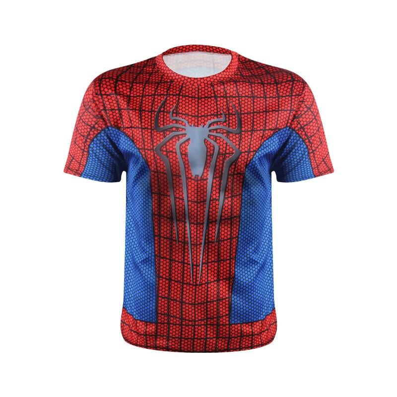 Marvel Superhero Avengers Spider Captain America Ironman T