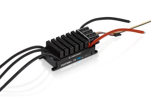 HobbyWing FLYFUN 130A HV OPTO V5 Brushless ESC Speed Controller for RC Models al ko 112966 gte 350 450 550