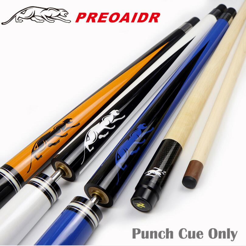 PREOAIDR Punch Cue 2-Piece Kit GBK 13mm Tip Hand-made Stick Billiard 139(65+74)cm