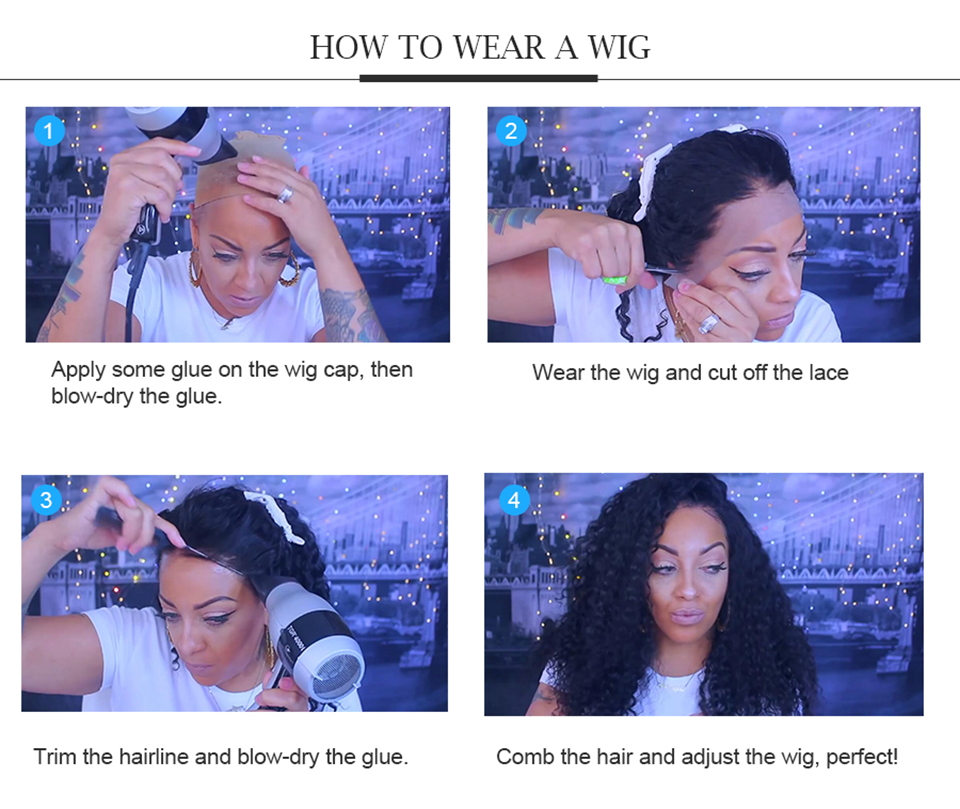 180% Remy Wig Plucked 17