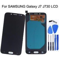 5.5AMOLED For SAMSUNG Galaxy J7 2017 LCD Display J730 J730f Touch Screen Digitizer Replacement For SAMSUNG Display J7 Pro J730f