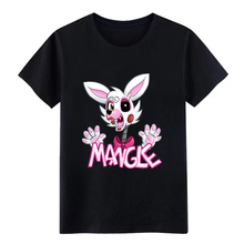 fnaf mangle rab bit t shirt create 100% cotton S-3xl homme Sunlight Breathable Spring Autumn Standard