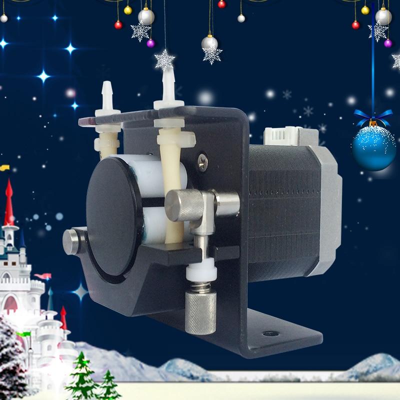 Kamoer Kcs Small Peristaltic Pump With Stepper Motor Mini Electric Water 24v High Precision Liquid