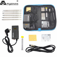 BAKON 75W 950D electric soldering iron Portable electric iron T13 iron head mini Portable Digital soldering station T13 iron tip