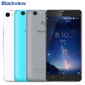 Original Blackview E7S 3G LTE Mobile Phone 2GB RAM 16GB ROM Quad Core MTK6580 5.5 inch Android 6.0 Camera 8.0MP Smartphone