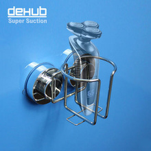 Free shipping hot sale electric shaving razor rack with super suction cup Dehub Korea bathroom accessories/kitchen