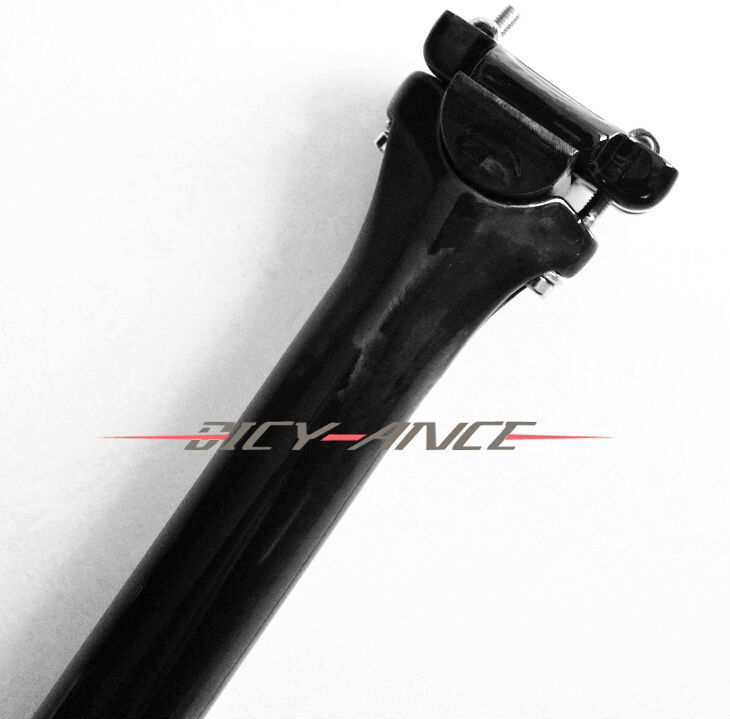 New OEM EC90 Mountain bike carbon seatposts Road bicycle UD full carbon fibre seatposts MTB parts 27.2 30.8 31.6*400mm Free ship newest road bicycle matt ud full carbon fibre bike seatposts mountain mtb parts 27 2 30 8 31 6 350 400mm 25mm offset free ship