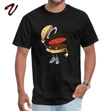 O Neck Burger Greeting 6ix9ine Men T Shirt Casual Initial D Sleeve Classic Design Tops Top Quality