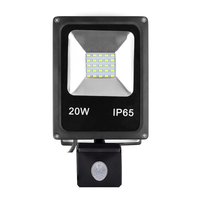 LED PIR Body Motion Sensor Flood Light Outdoor Landscape Spot Lamp 10W 20W 30W