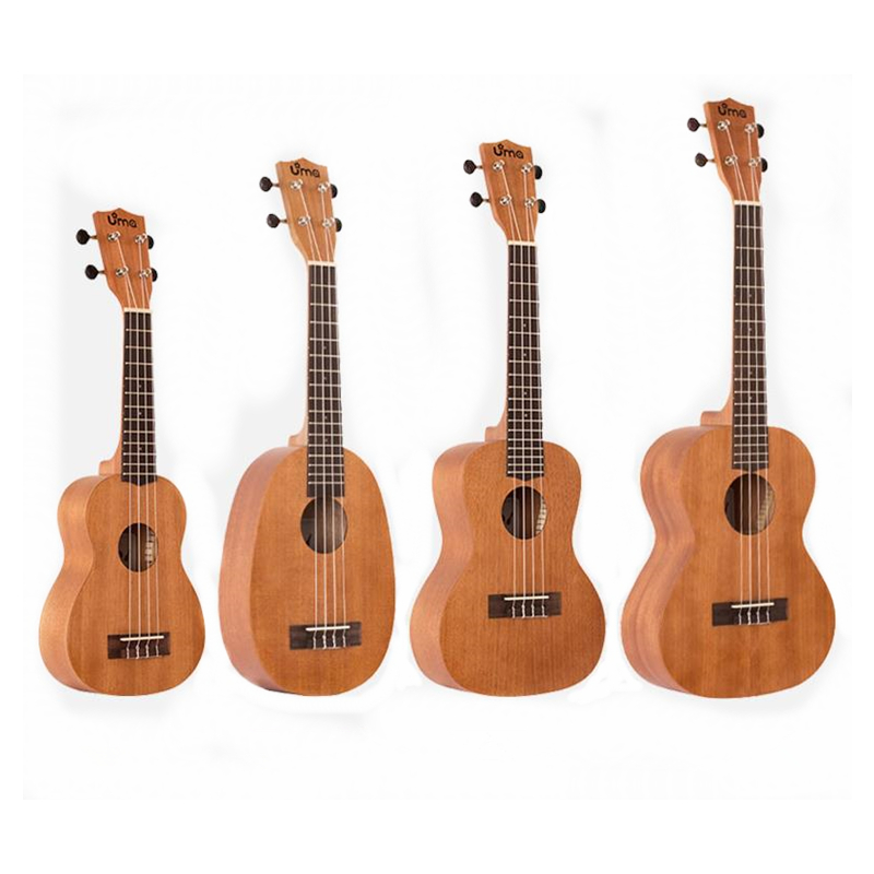 Adult female beginners Ukulele 21/23/26 inch Small Guitar Mahogany Fingerboard Rosewood U002 Semi-close KnobAdult female beginners Ukulele 21/23/26 inch Small Guitar Mahogany Fingerboard Rosewood U002 Semi-close Knob