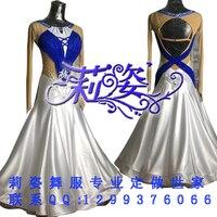 Handgemachte dance dress/standard ballroom wettbewerb dress