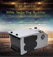 Дым машина туман низкий лежа первый машины 3000 Вт Gogger пульта дистанционного управления DJ оборудования Свадебная вечеринка сухой лед эффект
