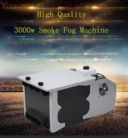 Smoke Machine Fog Low Lying Ground Machine 3000W Gogger Remote Controller DJ Equipment Wedding Party Dry Ice effect AC110V 220v