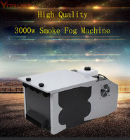Smoke Machine Fog Low Lying Ground Machine 3000W Gogger Remote Controller DJ Equipment Wedding Party Dry Ice effect AC110V 220v