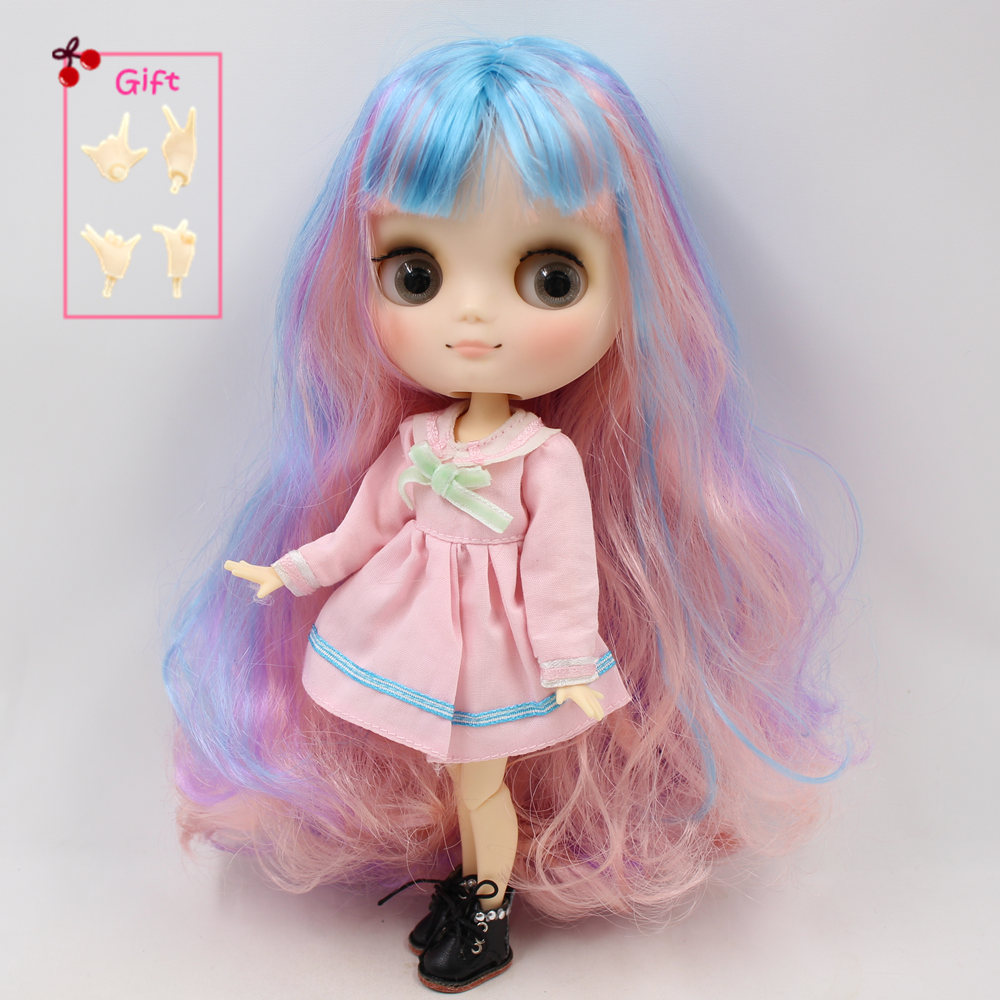 ICY Nude Blyth Doll Serires No.BL 2369 Pink hair JOINT