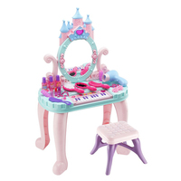 1pc Interesting Creative Simulation Beauty Makeup Toys Colorful Princess Dressing Table Role playing Toys for Children Girls
