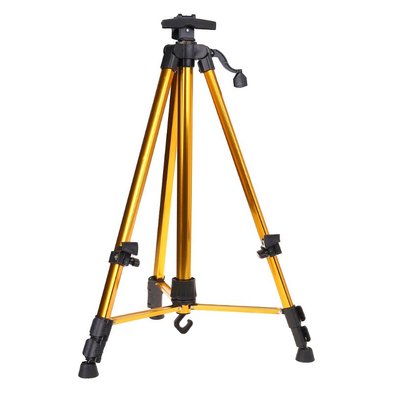 Aluminum Easel Tripod Support Stand Adjustable Lightweight Telescopic Folding Painting Artist Studio DisplayAluminum Easel Tripod Support Stand Adjustable Lightweight Telescopic Folding Painting Artist Studio Display
