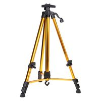 Aluminum Easel Tripod Support Stand Adjustable Lightweight Telescopic Folding Painting Artist Studio Display