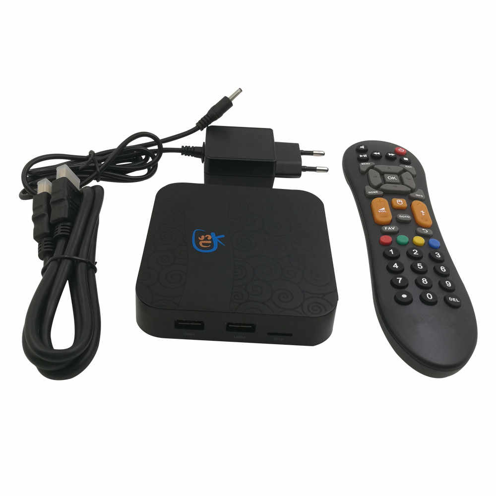 Amlogic S905X Live TV&VOD & Playback H 265 4K HD Media video Game Player  IPTV Subscription Android 7 1 2 PlayVideo TV Box