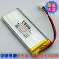 Shun 1500 mAh 3.7 V bateria de polímero de lítio 752365 telefone celular cobrando Po