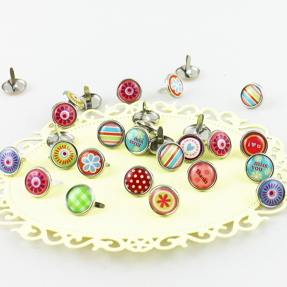 Kawaii cute diy epoxy scrapbooking decoration brads for - Home design app used on love it or list it ...