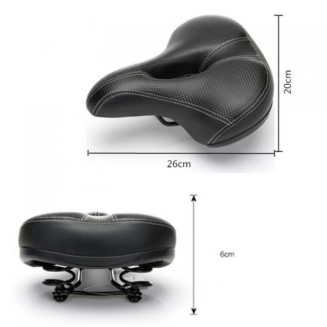 Soft Bicycle saddle Thicken Wide bicycle saddles seat Cycling Saddle MTB Mountain Road Bike Bicycle Accessories