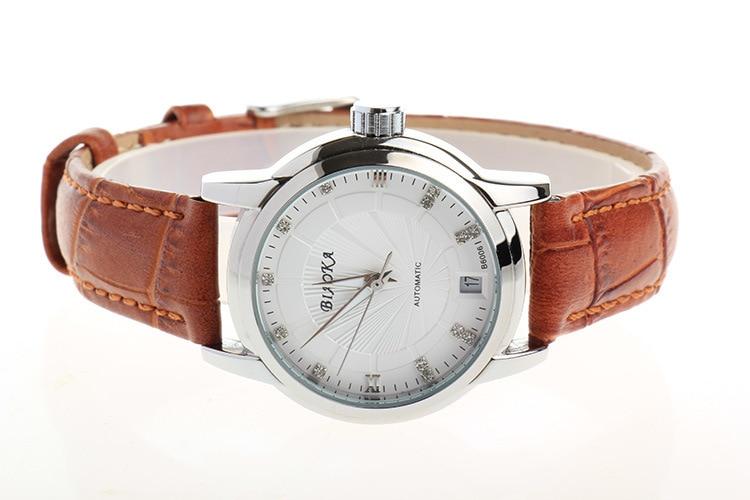 Elegant Business Style font b Women b font font b Mechanical b font Dress Watches Leather