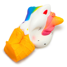 Unicorn Ice Cream Cone Squishy Toy