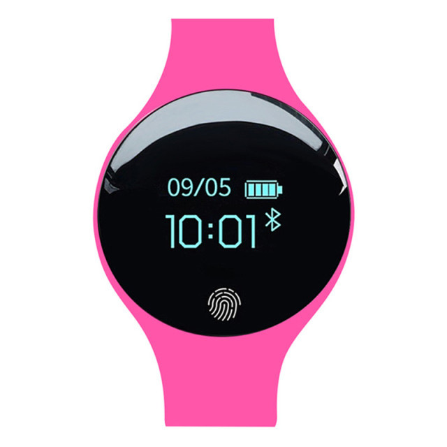 Fashion Smart Bluetooth Wrist Watch Women Sport Fitness Bracelet Watch 2018 Relogio Inteligente Women Watches for Android IOS