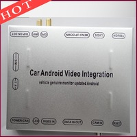 Pole Android 4.4.4 System Nawigacji GPS DVD Samochodów Widok Z Tyłu Kamery Wideo interfejs Do Po 2011 MMI Audi A6 A7 A8 Q7 Q3 A1 3G/4G