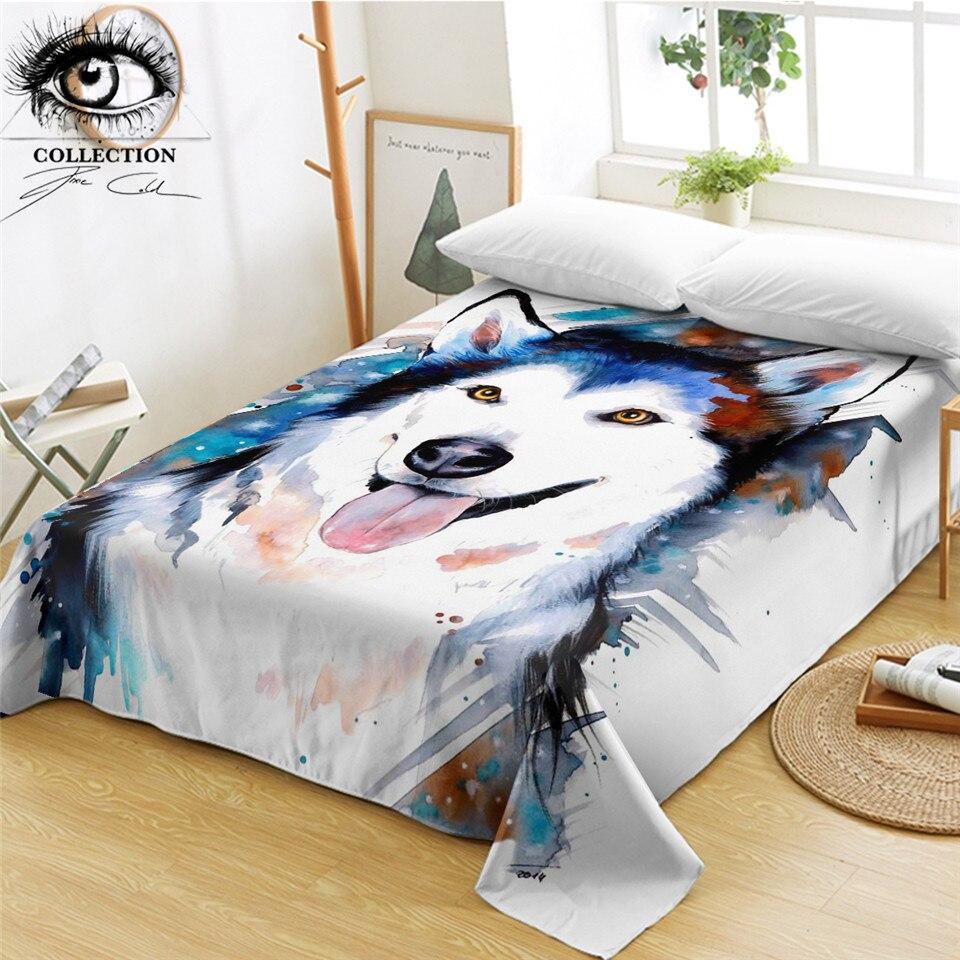 husky bed sheets