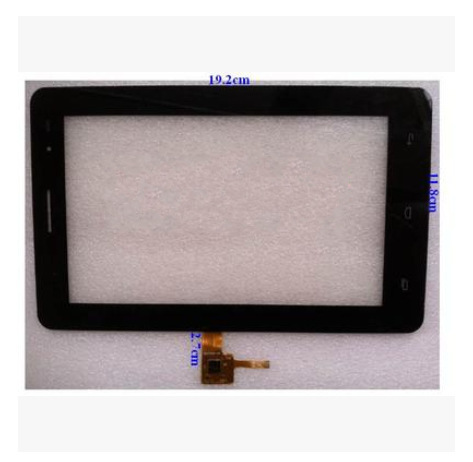 Nueva pantalla táctil capacitiva de la tableta de 7 pulgadas WGJ7230-V3 envío gratis