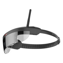 Nueva Llegada GLAXXES G619 5.8G 40CH Anteojos FPV Monocular 9.8 Pulgadas de Pantalla Virtual de Vídeo Auricular DVR Para FPV Racer