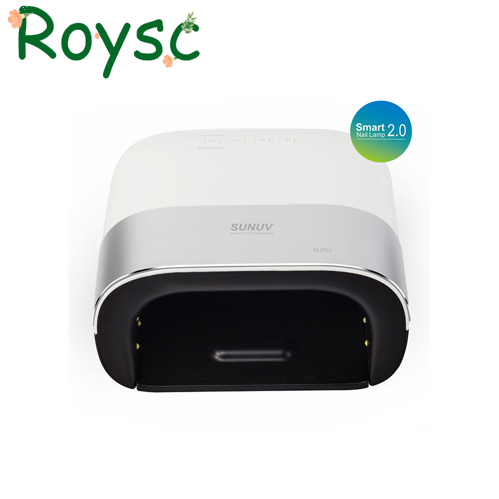 Smart 2.0 Sun 3 Nail Dryer 48W UV LED Lamp Nail with Smart Timer Memory Invisible Digital Timer Display Nail Drying Machine smart 2 0 nail dryer 48w uv led lamp nail with smart timer invisible digital timer display with fan usb interface led lamp nail