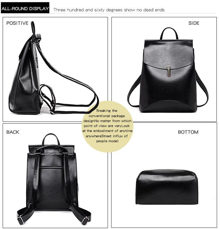 HTB1O4wjQYvpK1RjSZPiq6zmwXXaS HOT Fashion Women Backpack High Quality Youth Leather Backpacks for Teenage Girls Female School Shoulder Bag Bagpack mochila