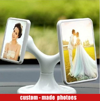 Custom photo frame for car supply, creative car decoration supplies car accessories DIY product auto ornaments
