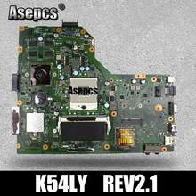 Asepcs K54LY Motherboard Laptop UNTUK ASUS K54L K54LY X54H X54H K54HR X84H Uji Asli Mai'nboard REV2.1/2.0 Pm(China)
