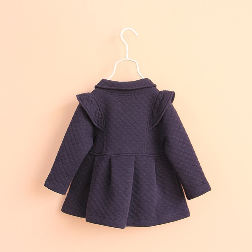 Kids Girls Outerwear & Coats Red blue Cotton tops Girl christmas - Children's Clothing - Photo 3