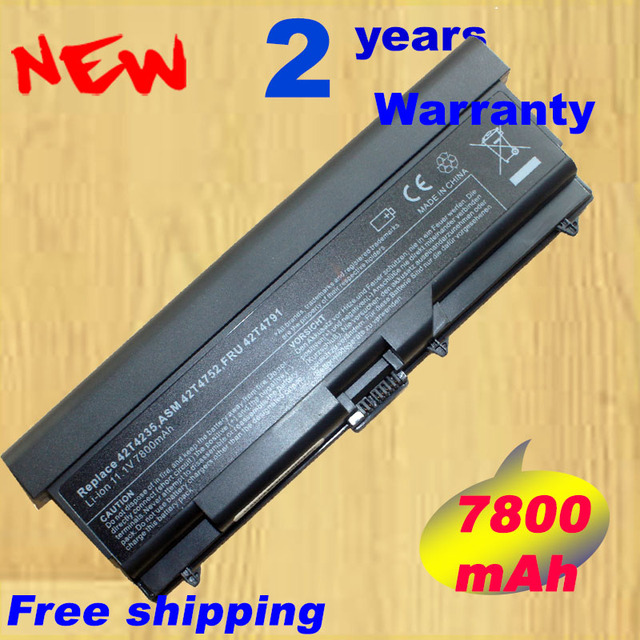 HSW 9 cellules 7800 mAh Batterie Pour Lenovo ThinkPad L410 L412 L420 L421 L510 L512 L520 SL410 SL510 T410 T410i T420 T510 T520 Bord 14