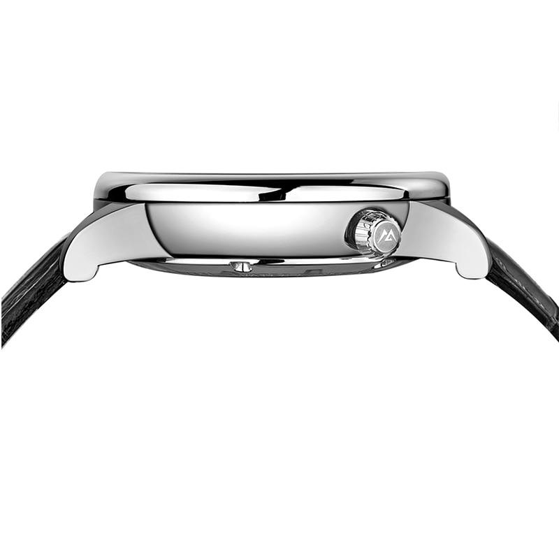 Mige 2018 Top Brand New Sale Mechenical Watch Skeleton Case Case - Տղամարդկանց ժամացույցներ - Լուսանկար 3