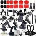 Esportes ao ar livre comum kit de acessórios para todos gopro hero4 silver preto hero 4 3 + 3 sj4000 sj5000 sj6000 sports camera VS73
